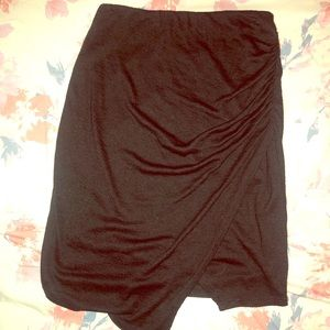 Black cloth skirt